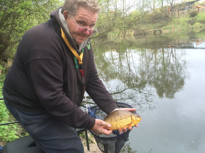 Nice Crucian for John at Bucbricks 3