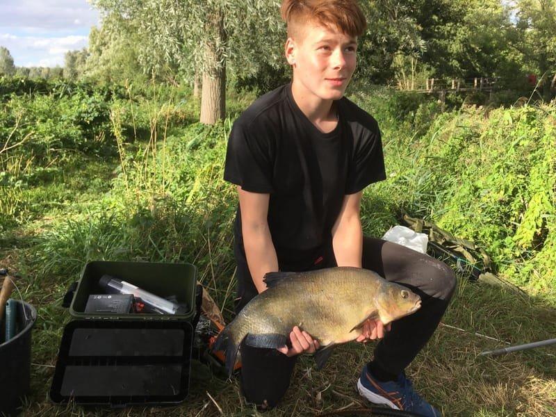 Nice Bream from New Junior member at Stratford Mill pool