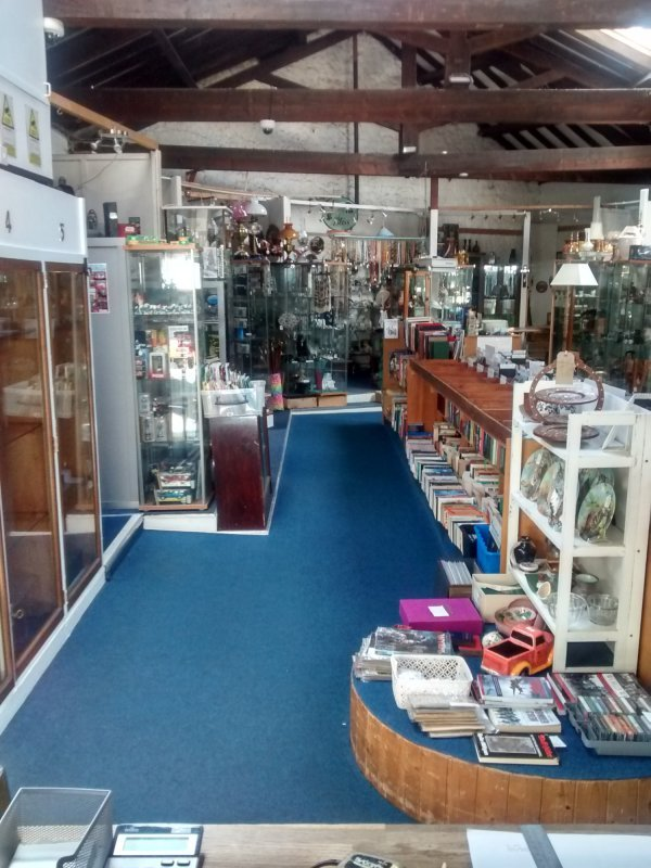 Antiques Centre and Riverside Cafe
