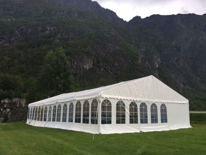 Din leverandør av telt på Sørlandet!