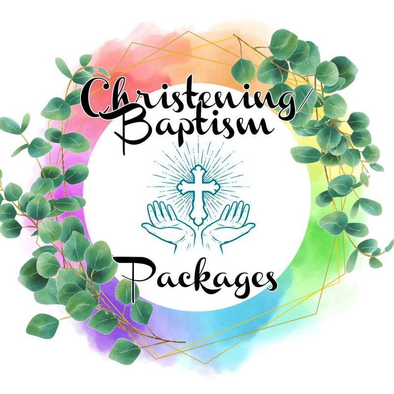 Christening/Baptism Packages - £190