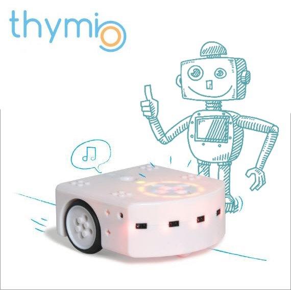 Thymio טימיו - הרובוט שמלמד ילדים בגן לתכנת
