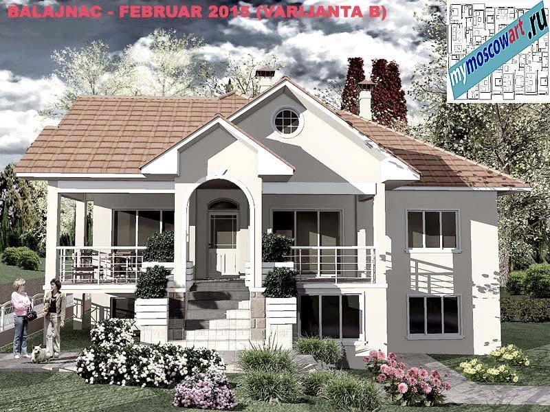 Проект дома - Милан