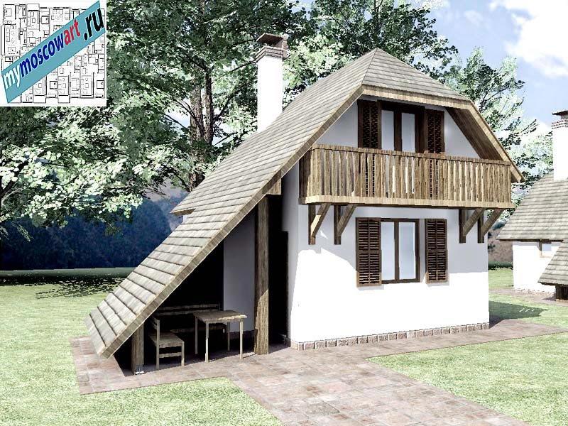 Проект дома - Радомир