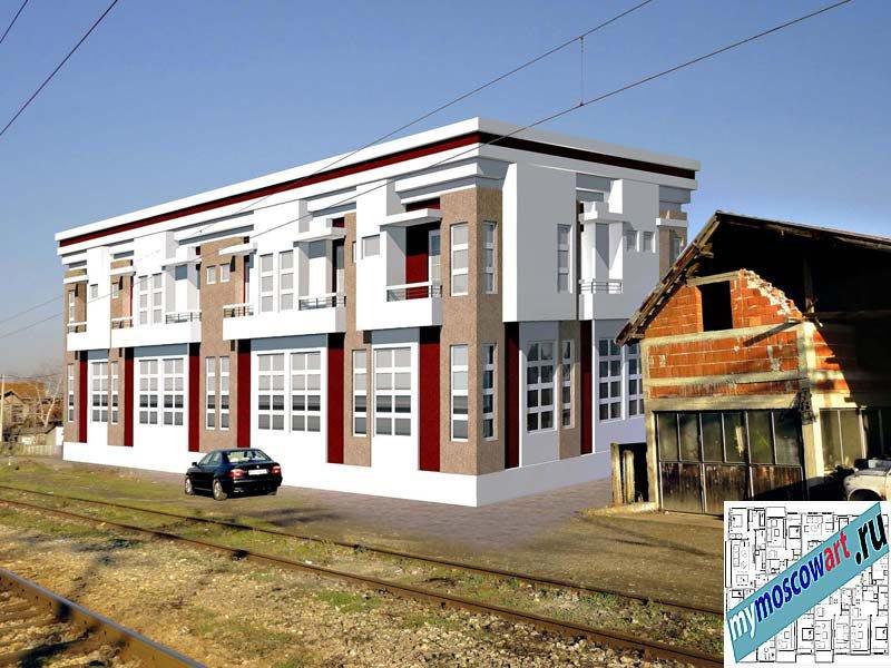 Проект мотеля - Дарко