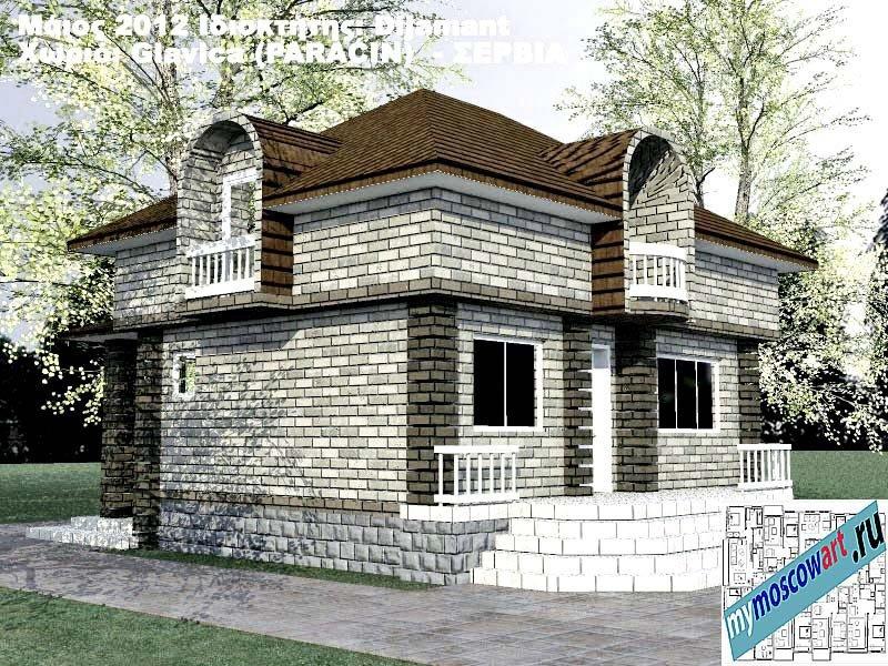 Проект дома - Диямант