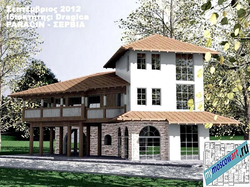 Проект дома - Драгица