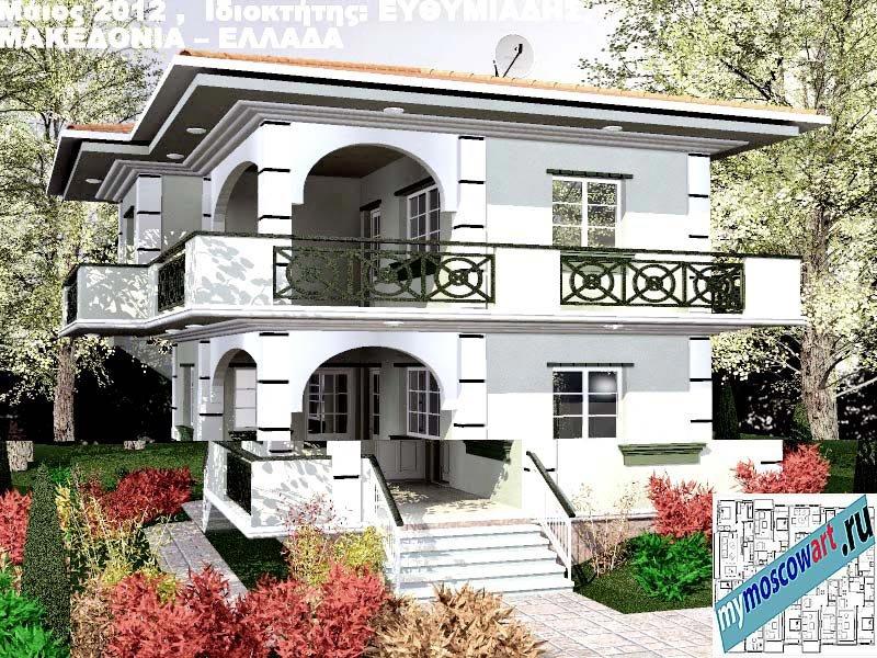 Проект дома - Ефимиадиc