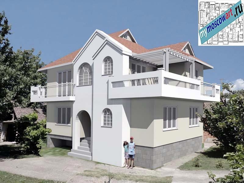 Проект дома - Динич