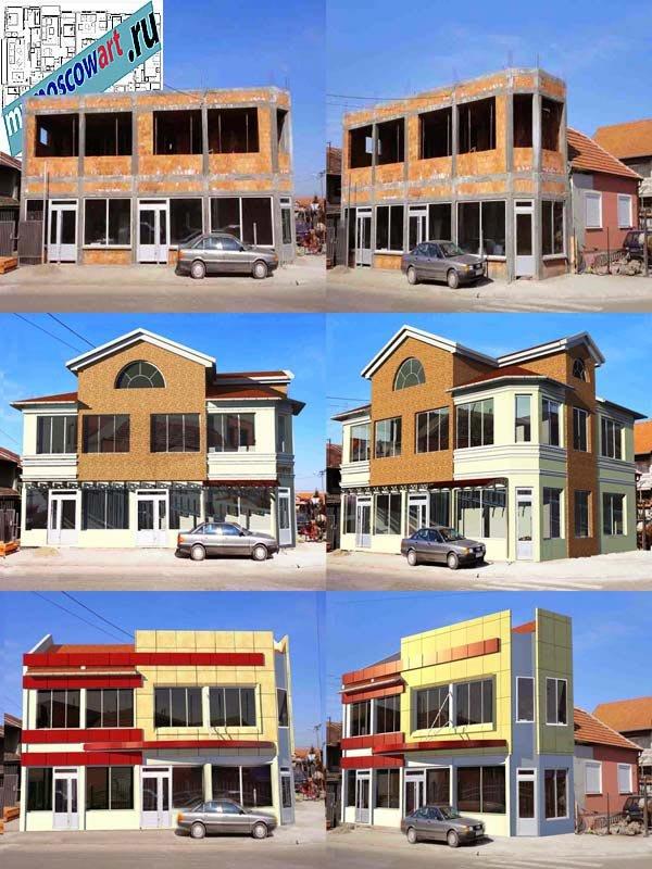 Проект бизнес здания - Неша