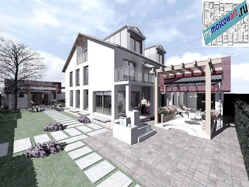 Проект дома - Горан