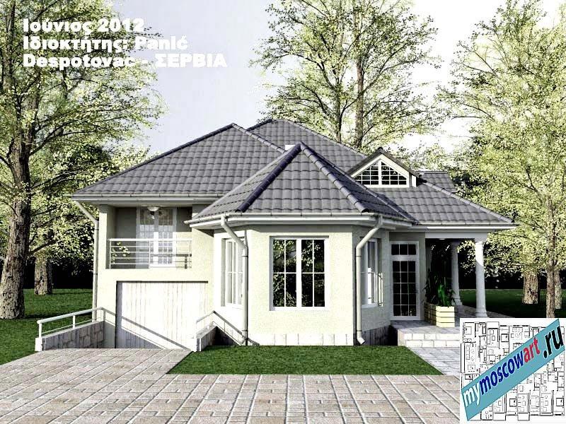 Проект дома - Панич