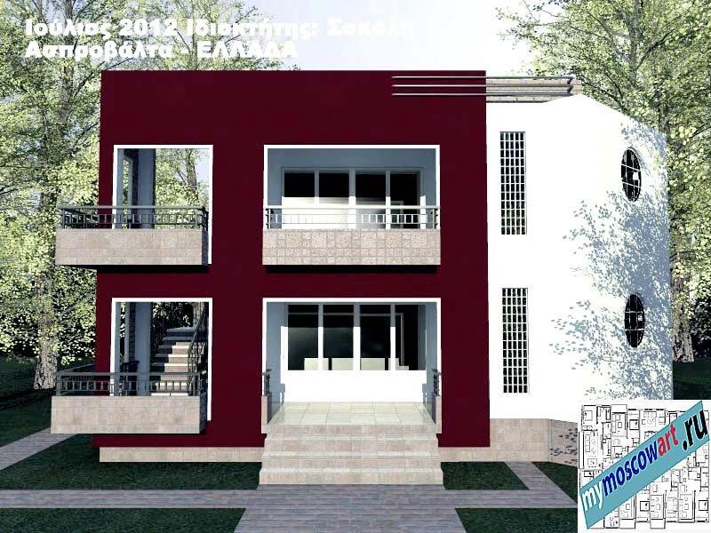 Проект дома - Сокол