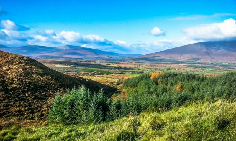 View towards Nephin Beg from The Windy Gap
