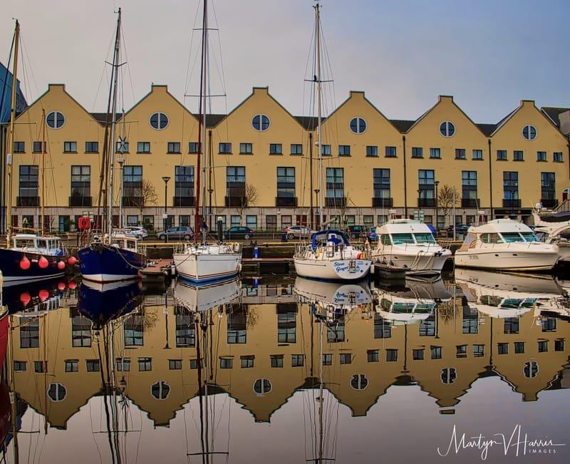 A still morning in Galway marina