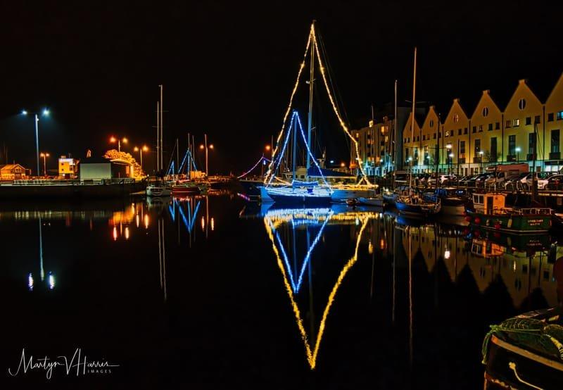 New Year 2018 Galway marina
