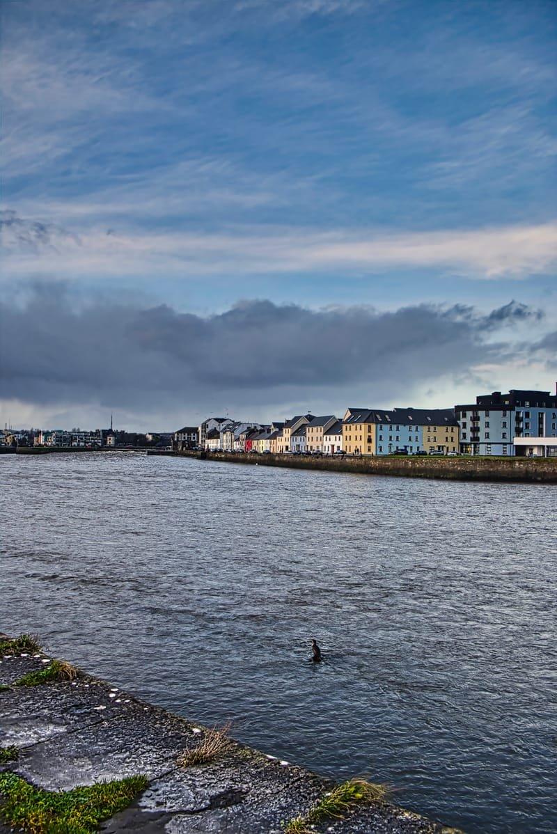 The Long Walk & Claddagh Quay, Galway