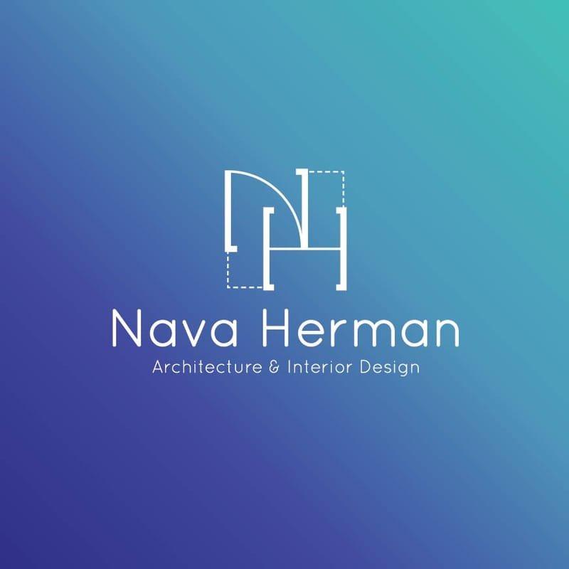 לוגו נאוה הרמן - אדריכלית ומעצבת פנים
