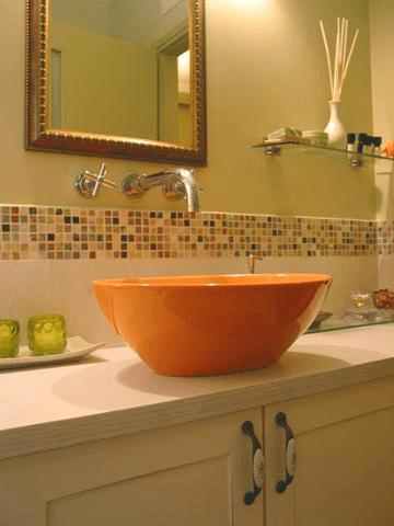 חשוב לשים לב לגובה הכיור. עיצוב: קרן אטלס דרור (צילום: קרן אטלס)