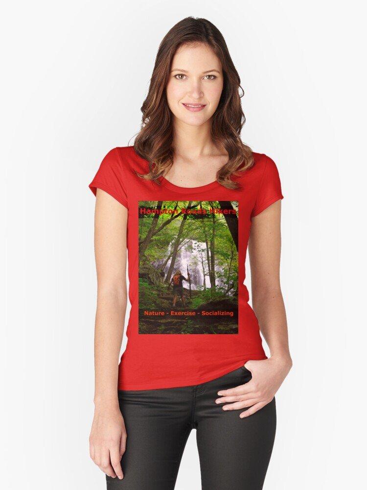 Ladies Cut HRH T-shirt/Jones Run Falls