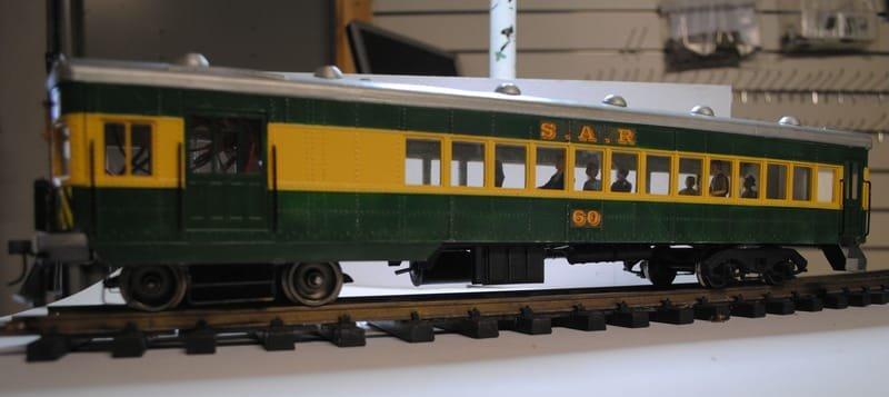 Brill 75 Maximum Capacity Rail Car - Model Rail Design