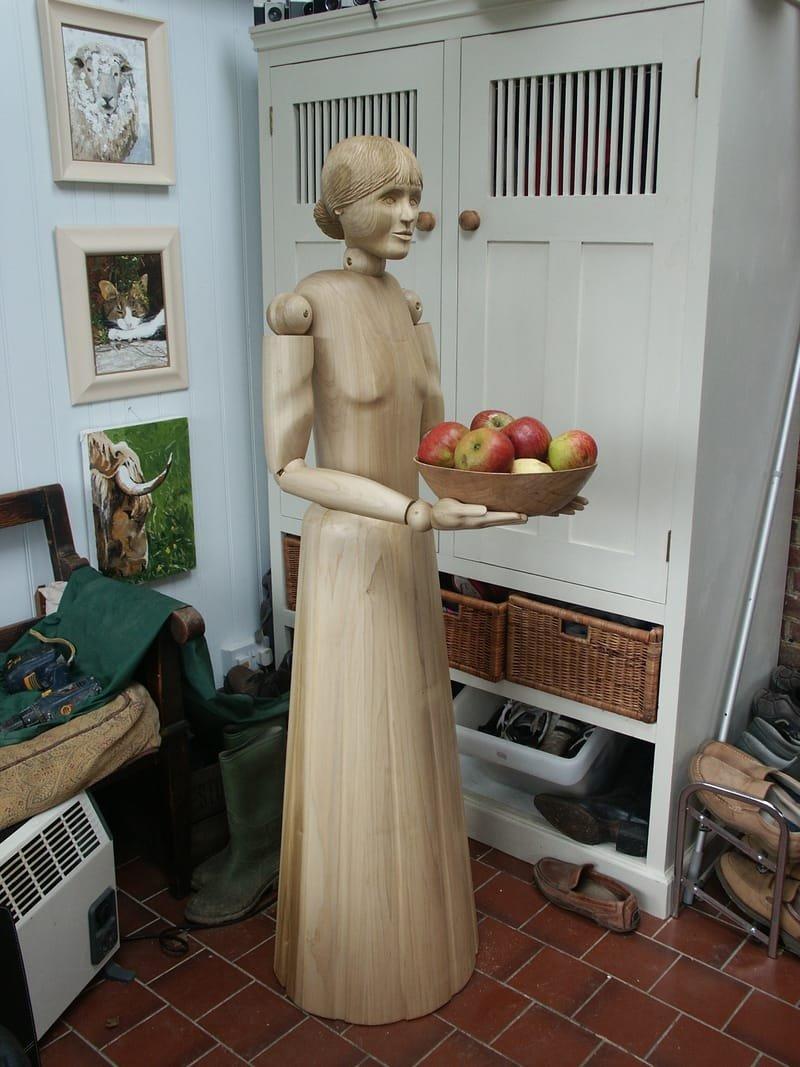 American shop mannequin