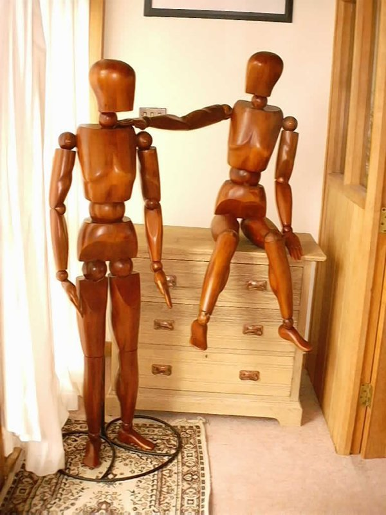 Half penny mannequin