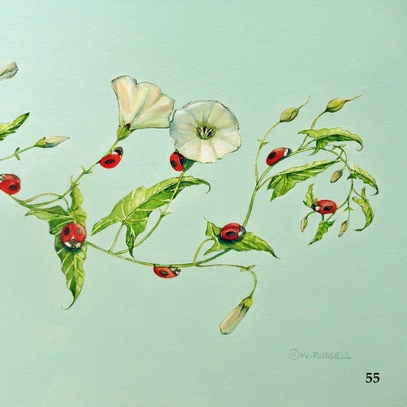 Ladybug Heaven Detail