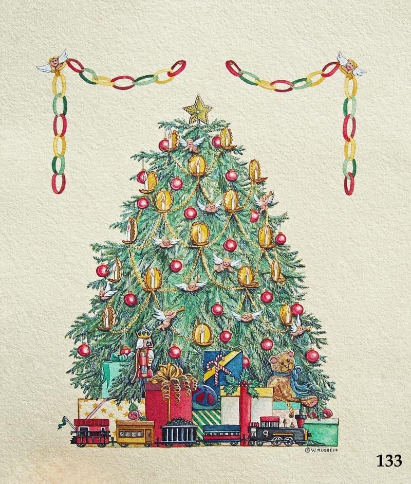 Victorian Holiday Tree