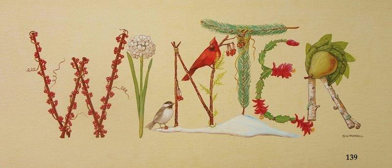 Winter Decorative Sign