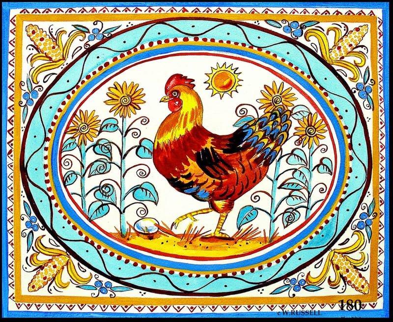Italian Style Hen