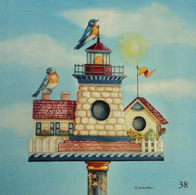 Birdhouse Lighthouse
