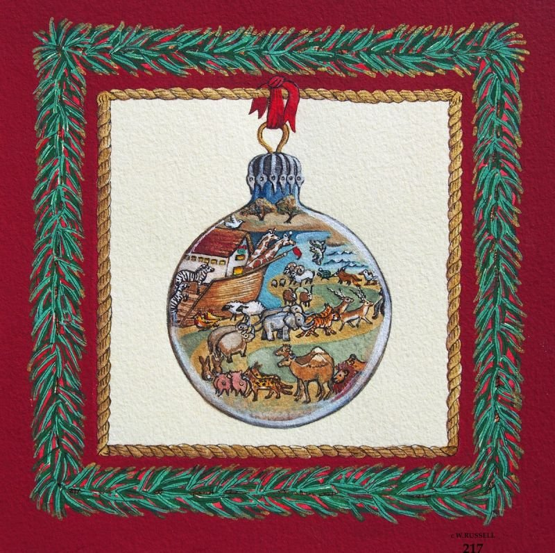Holiday Ornament Noah's Ark