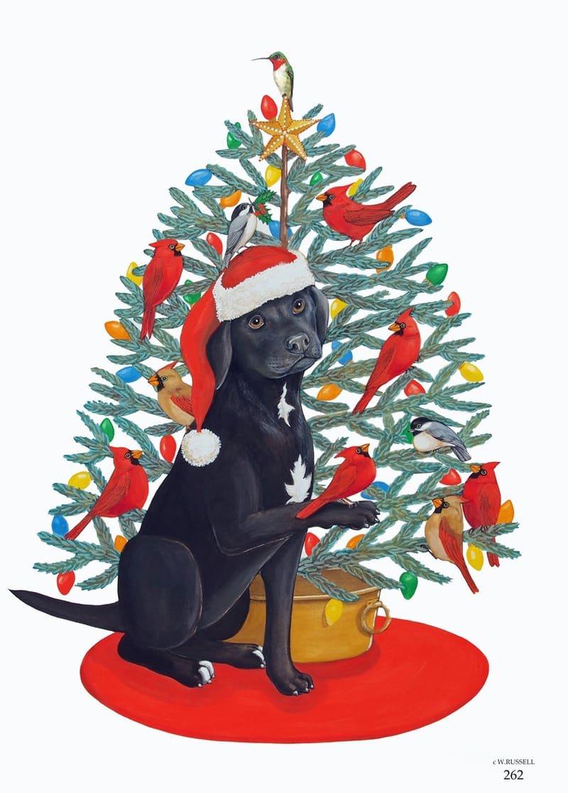 Bird Dog Holiday Tree
