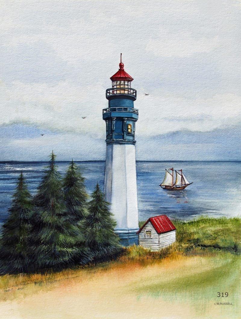 Lighthouse Gray's Harbor Washington