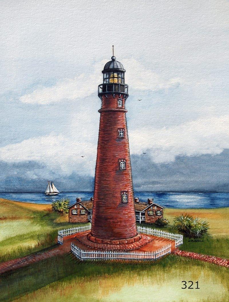 Lighthouse Ponce De Leon Inlet Florida