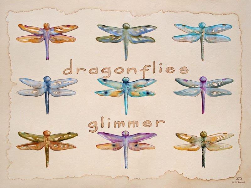 Dragonflies Glimmer