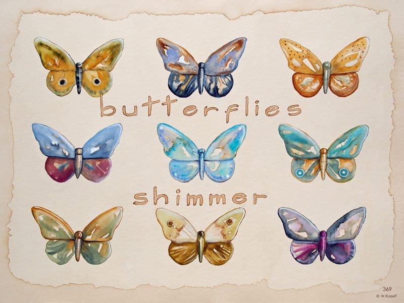 Butterflies Shimmer