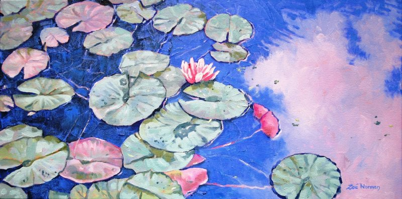 Tranquil Waterlilies