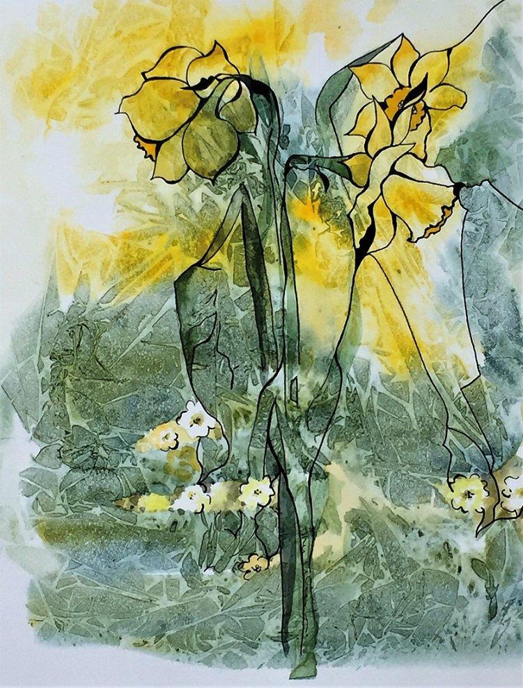 Daffodils and Primroses