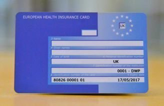 "European Health Insurance Card (EHIC) "" free card """