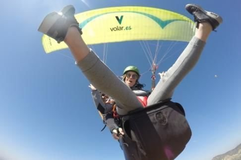 Paragliding in Tandem on the Costa Blanca