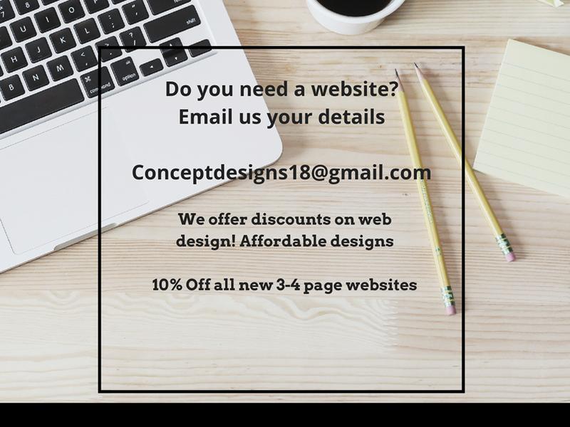 Concept designs Website