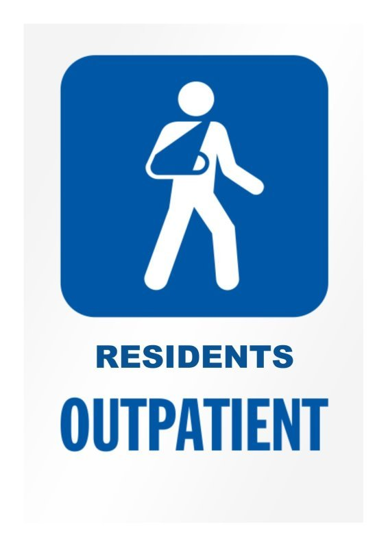 Outpatients Department for Residents