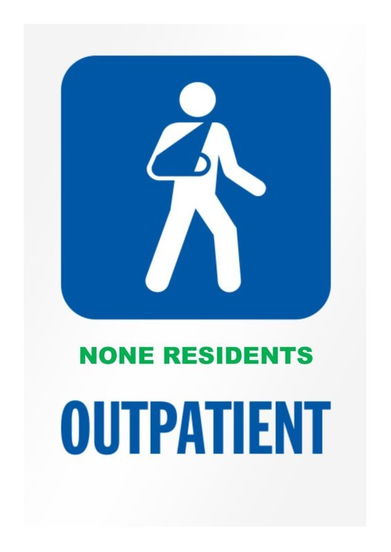 Outpatients Department for Non-Residents