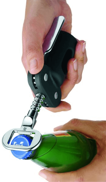Clever & More Corkscrew with Bottle Opener