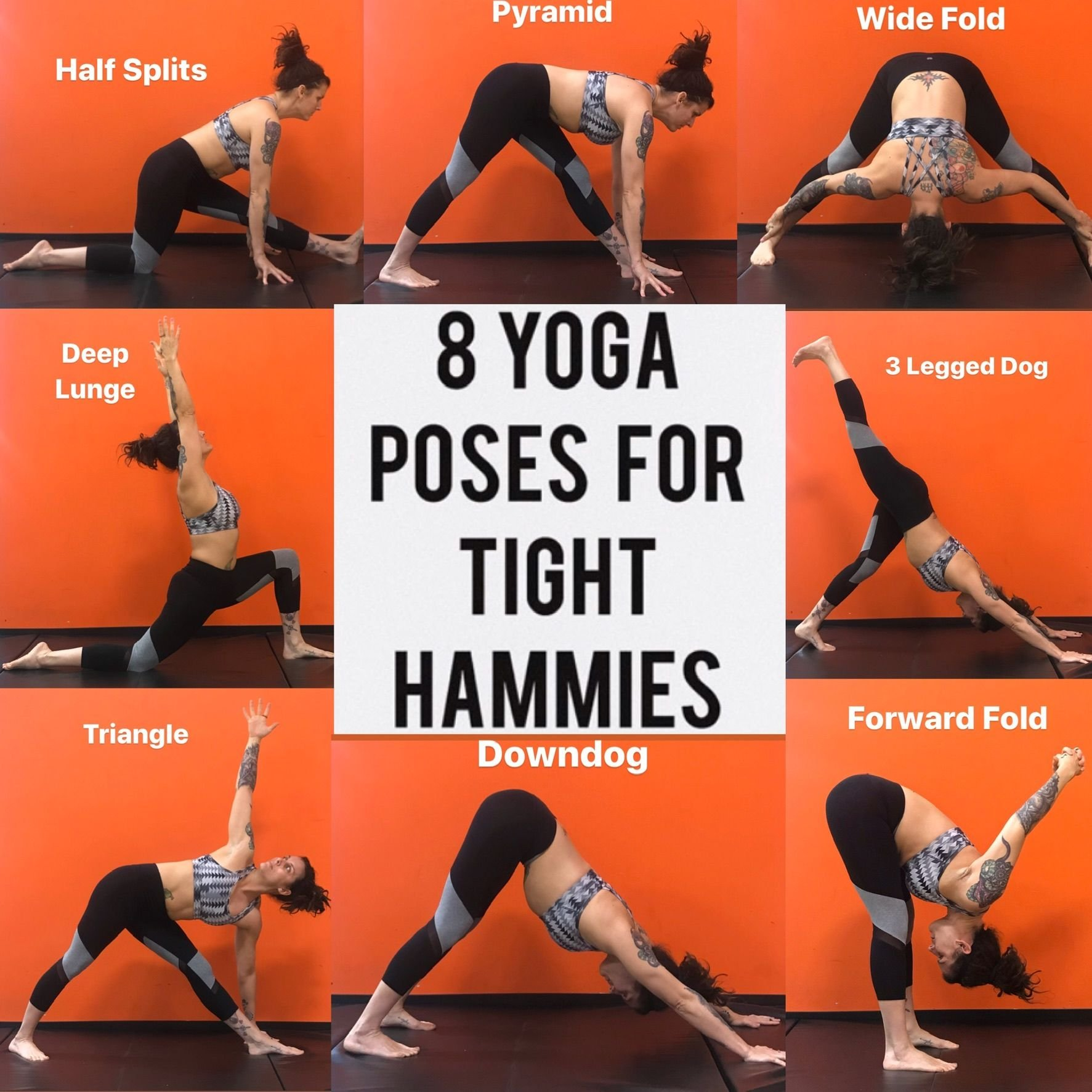 Yoga Poses For Tight Hamstrings