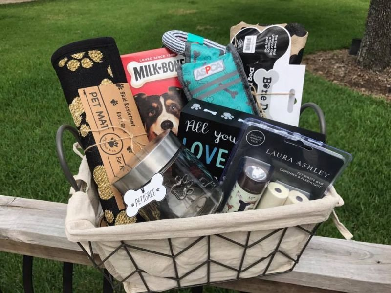 Dog Goodie Basket