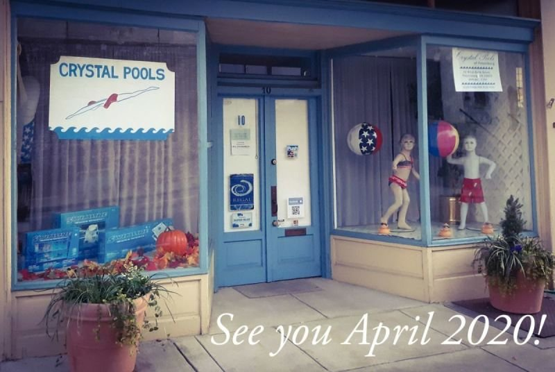 Our store is now closed for the winter and will reopen in April 2020.