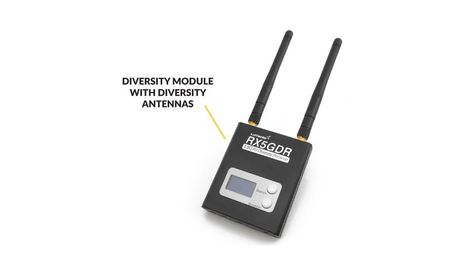 Diversity FPV Video Receiver